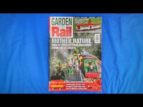 Garden Rail Magazine - Blagdon & Butcombe Light Railway - October 2019 Issue