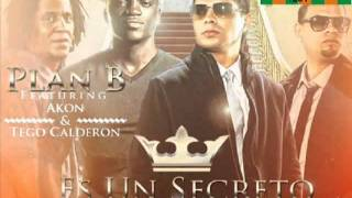 (New 2011) Es Un Secreto (Remix To The Remix) - Plan B Ft. Tego Calderon  Akon - Reggaeton 2011