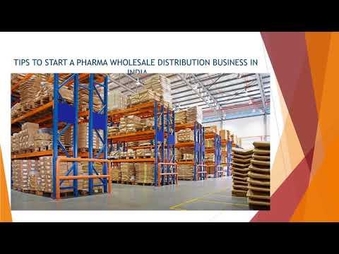 start pharma wholesale distribution business india
