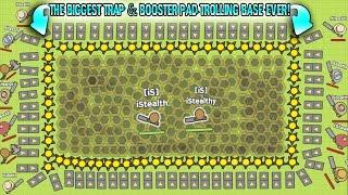 MOOMOO. O THE B GGEST TRAP \u0026 BOOSTER PAD TROLL NG BASE EVER Sandbox Mode MooMoo.io
