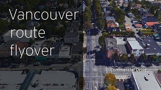 FortisBC Gas Line Upgrades: Vancouver route flyover