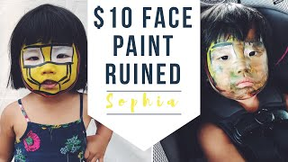 $10 face paint RUINED