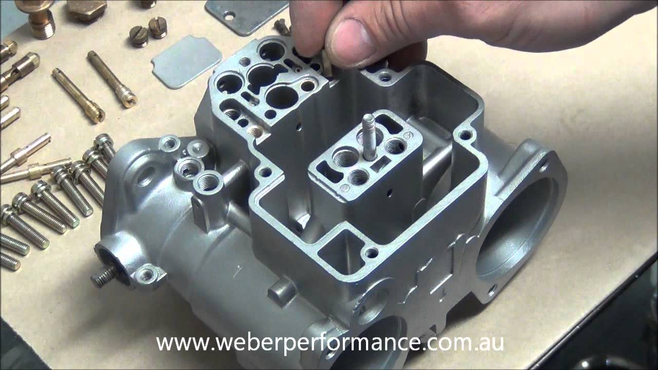 45 dcoe 13 weber assembly part 1 youtube pooptronica