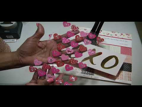 XOXO  Mini Valentine Envelopes