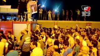 بالزغاريد.. جنازة عسكرية للشهيد محمود صديق بقريته في الدقهلية