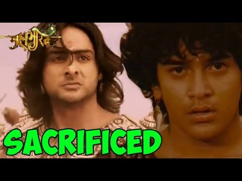 Mahabharat : Uttar 'SACRIFICED' his Life for Yudhisthir | 17th June 2014 FULL EPISODE