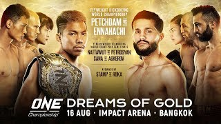 [Full Event] ONE Championship DREAMS OF GOLD