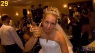 Свадебные приколы. Пьяные невесты. Смешно до слез.