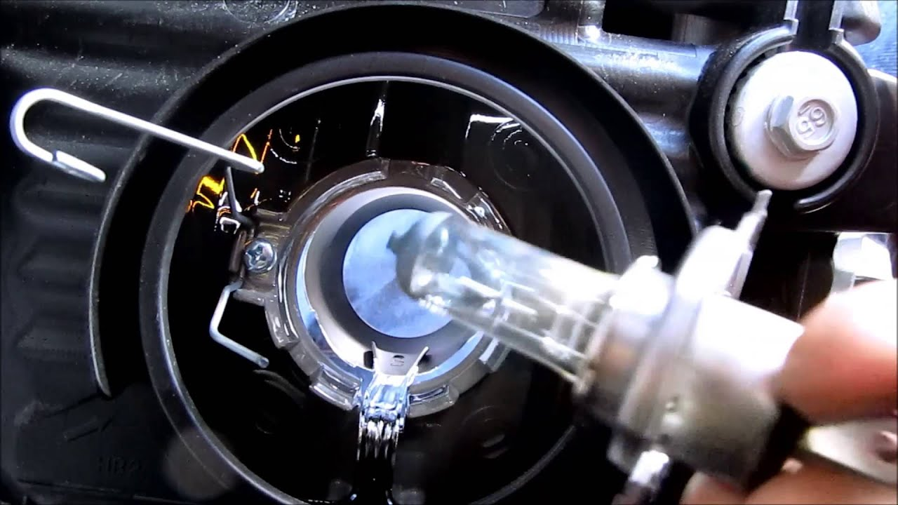 Diy H4 Headlight Bulb Replacement Diycarmodz Youtube