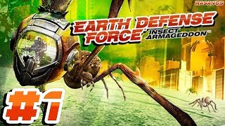 Earth Defense Force - Insect Armageddon [PC] part 1 (chapter 1 mission 1)