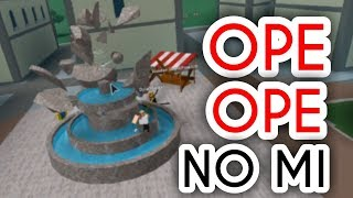 OPE OPE NO MI! | Steve's One Piece | ROBLOX