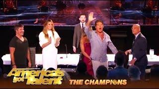 Colin Cloud: Mentalist RESURRECTS David Hasselhoff On America's Got Talent   AGT Champions