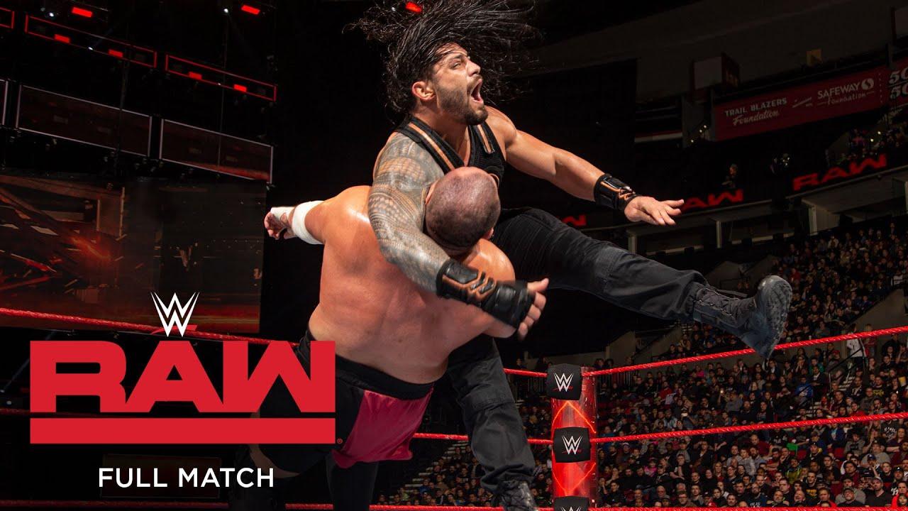 Download FULL MATCH - Roman Reigns vs. Samoa Joe: Raw, Feb. 6, 2017
