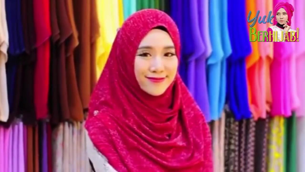Tutorial Hijab Tebaru Paris Segi Empat Instant 2017 Tanpa Apalah