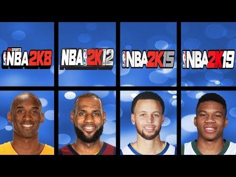 Every NBA League MVP Winners Overall Ratings In NBA 2K Games (NBA 2K - NBA 2K19)