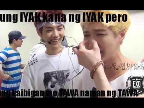 Funny Meme Photos Tagalog : Exo tagalog memes part1 youtube