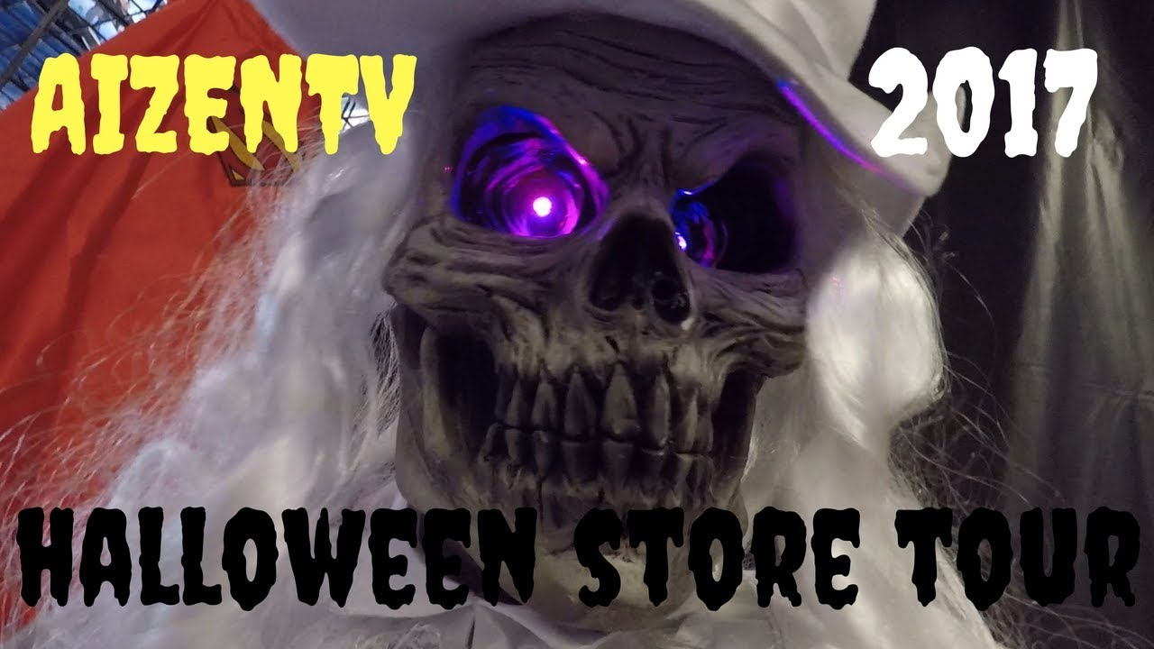 halloween express in tampa fl store tour costumes and scary decorations vlog