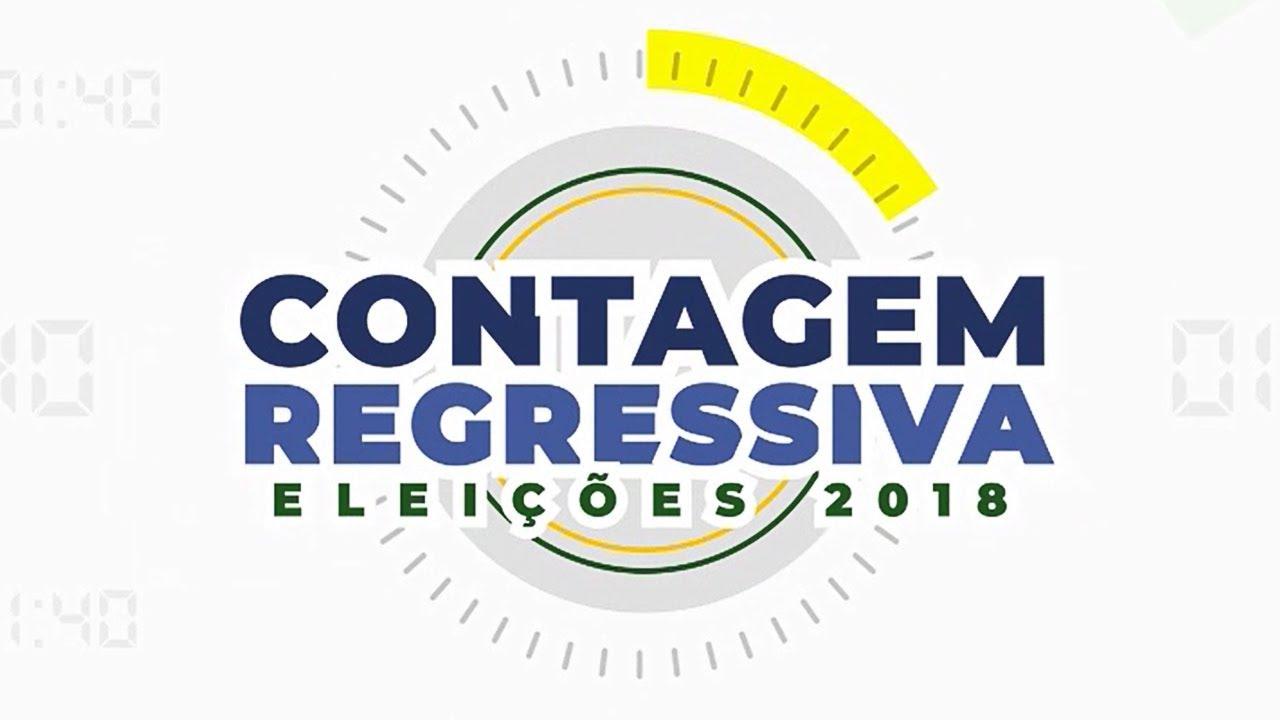 Resultado de imagem para contagem regressiva 7 horas faltam cobertura eleitoral