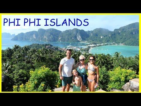 🐵Тайланд Острова Пхи Пхи Остров Обезьян 🐒 Часть 1 Видео для детей Phi Phi Islands