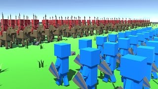 TOTALLY ACCURATE BATTLE SIMULATOR 2.0! (Ancient Warfare 2)