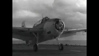 "WW2 Escort Carrier Landings and Takeoffs -- ""Baby Flattops"""