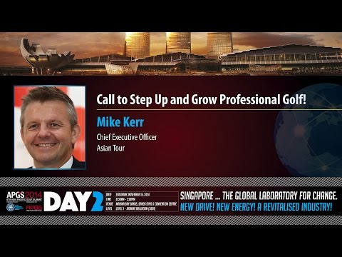 APGS 2014 Call To Step Up And Grow Professional Golf!