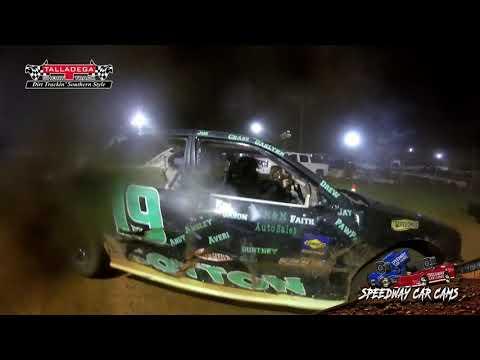 #19 Kaden Cotton - Hotshots - 4-26-19 Talladega Short Track - In Car Camera