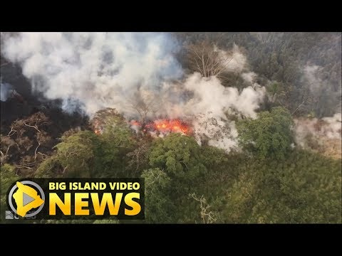 Hawaii Volcano Eruption Update - Wednesday Night (May 16, 2018)
