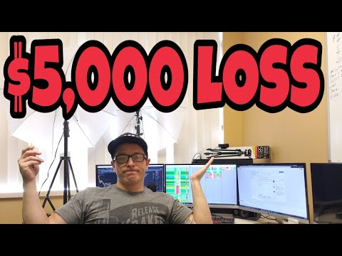 $5,000 Loss Day Trading Stocks Live | Chopped Out Bad!