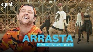 Coreografia Arrasta - Glória Groove (feat. Léo Santana) | Justin Neto | Me Deixa Dançar