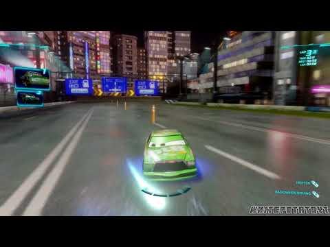 Cars 2: The Video Game | Chick Hicks - Ginza Sprint! | WhitePotatoYT!