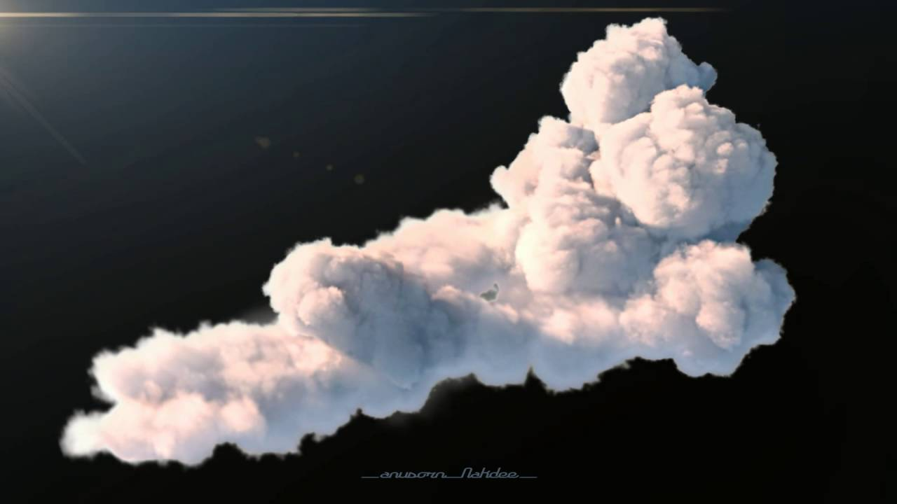 Cloud FX Houdini +Vray by Anusorn Nakdee