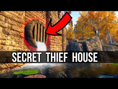 Skyrim Secret Thief House Mod Review – (New Bethesda Creation Club Mods) thumbnail