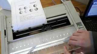 Apple ImageWriter A3 - Une introduction aux imprimantes matricielles - Informatique du passé