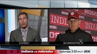 Indiana Coach Tom Allen Gears Up for Nebraska B1G Football