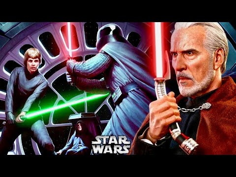 How Anakin And Dooku's Final Duel Influenced Vader In His Duel With Luke In Episode 6! (Legends)