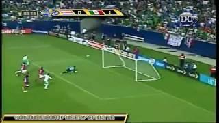 Costa Rica vs. México 1(3) - (5)1 CONCACAF Copa Oro ´09 Semifinal