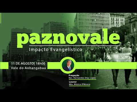 Impacto Evangelístico - Paz no vale