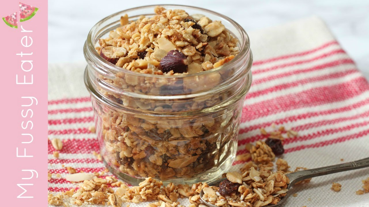 Easy Microwave Granola - My Fussy Eater | Easy Kids Recipes