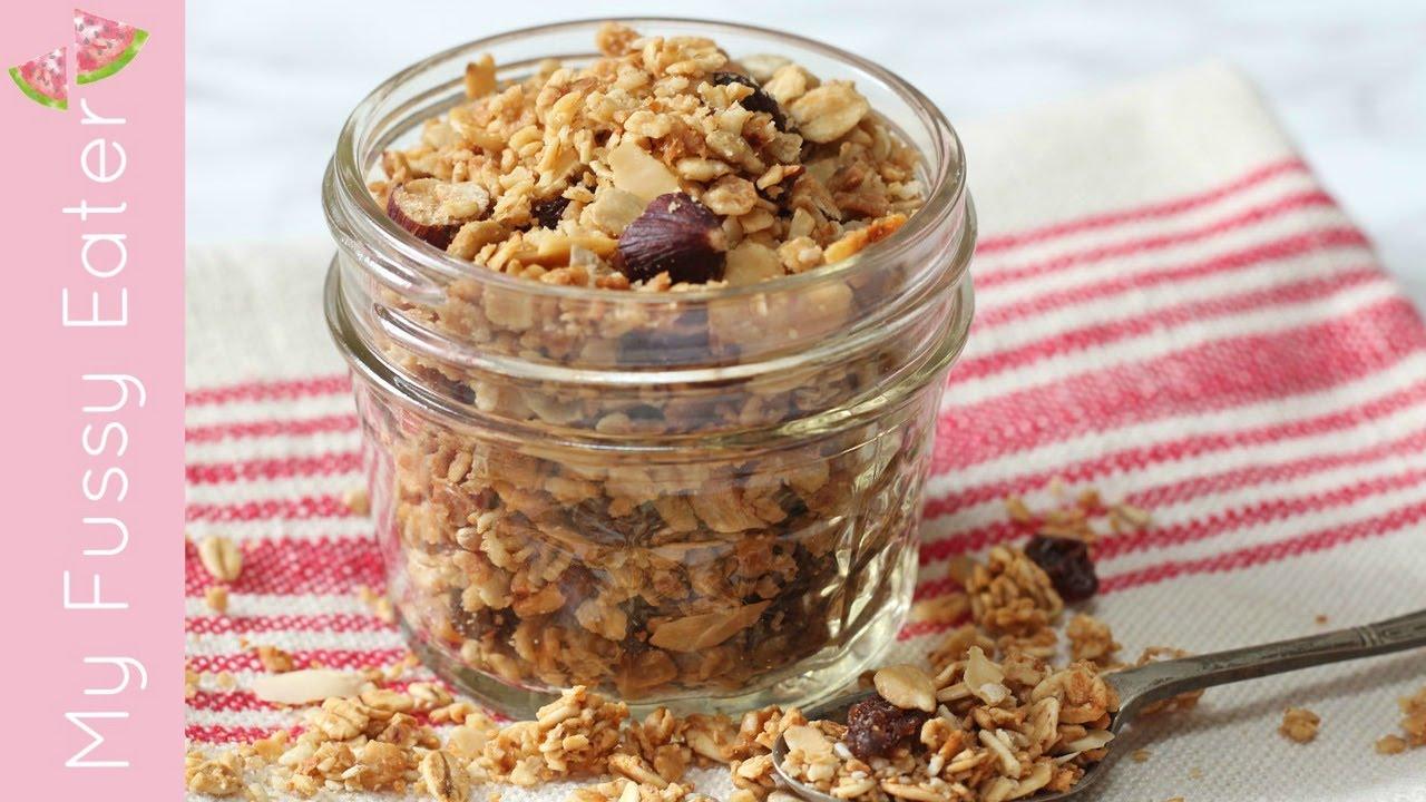 How to make microwave granola 5 minute granola recipe youtube how to make microwave granola 5 minute granola recipe forumfinder Gallery
