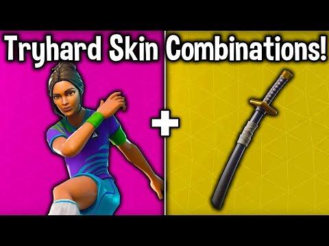 10 TRYHARD SKIN COMBINATIONS In SEASON 7! (Fortnite Tryhard Combos)