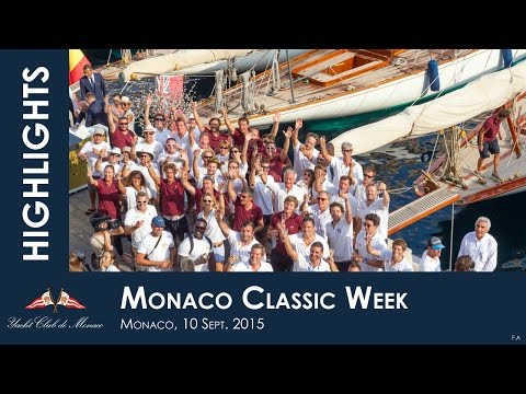 Monaco Classic Week 2015 - Day 2 with ITW