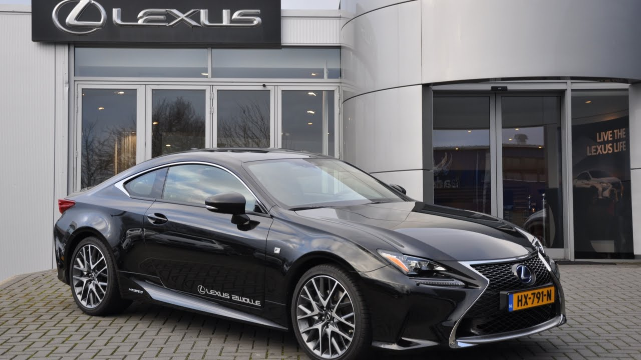 lexus rc 300h f sport line youtube. Black Bedroom Furniture Sets. Home Design Ideas