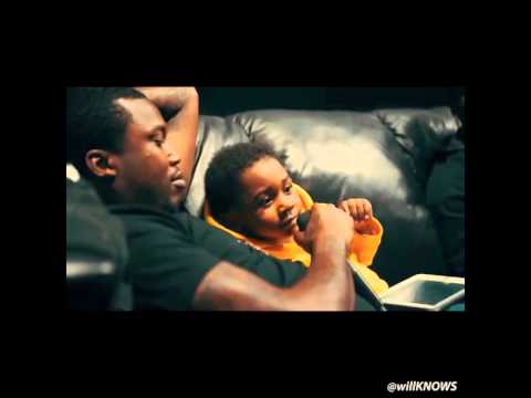 Meek Mill and Son Share A Rhyme