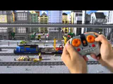 Nowe Pociągi Lego City 60051 60052 Youtube