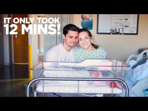 WE HAD A BABY & IT DIDNT HURT!!! | BIRTH VLOG {3/11/2017}
