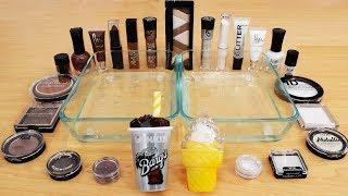 Root Beer vs Ice Cream - Mixing Makeup Eyeshadow Into Slime! Special Series Satisfying Slime Video