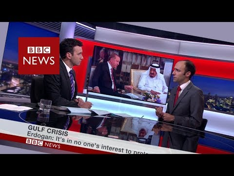Erdoğan in Saudi Arabia, BBC World News, 23 July 2017