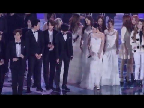 FMV Hyoyeon(snsd) and Minhyuk(cnblue) moments