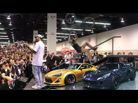 *BMX VS INSANE CAR SHOW* @ TUNER EVO ft  Xavier Wulf!